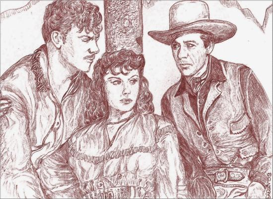 Robert Preston, Paulette Goddard, Gary Cooper par didgiv